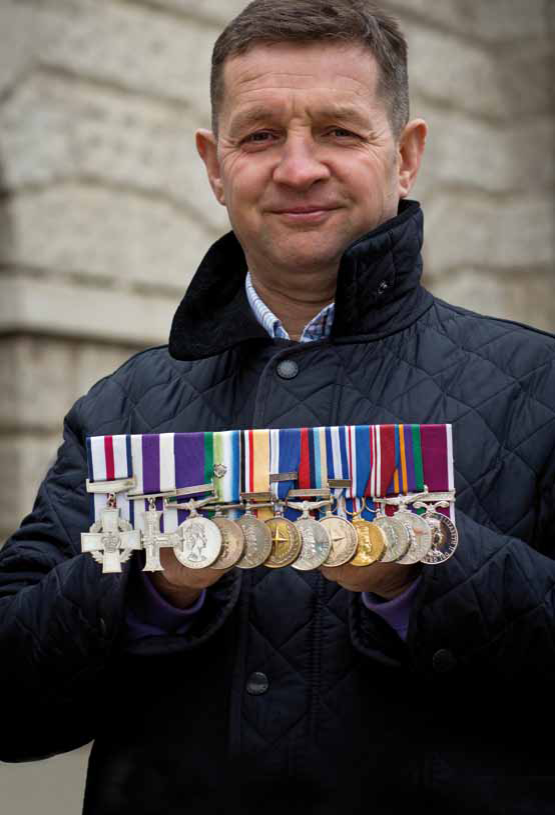 Soon To Be Retiring Britains Most Highly Decorated