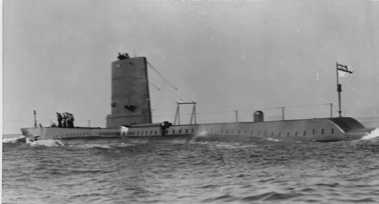 THE BRITISH SUBMARINE AURIGA