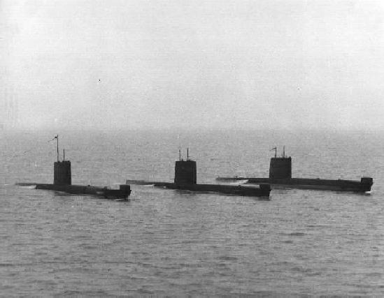 The Great Submarine Race, English Channel, 1980