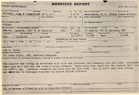 Http://www.godfreydykes.info/images/four_days_2  Homicide Report Template